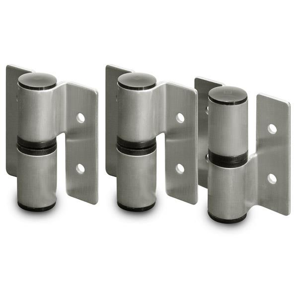 Surface Mounted Hinges Toilet Partition Hardware Jacknob - Bathroom partition hinges