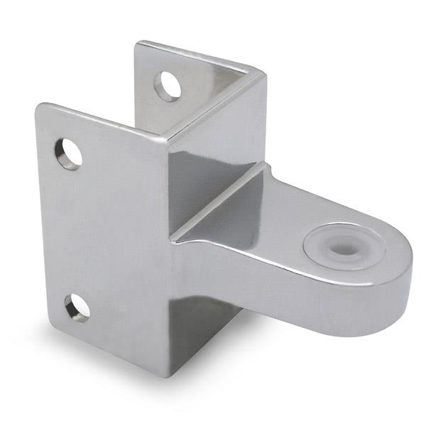 HINGE BRACKET TOP GENMARBLE O Toilet Partition Hardware - Bathroom partition hinges