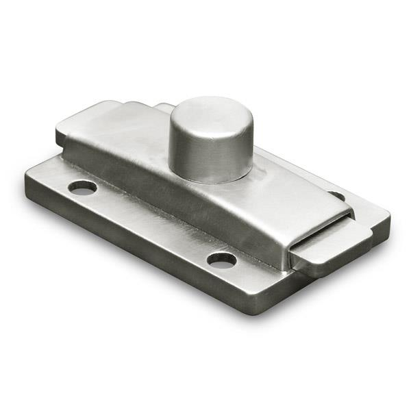 LATCHSLIDESURFACE MOUNTDMILLS SS Toilet Partition Hardware - Bathroom partition slide latch