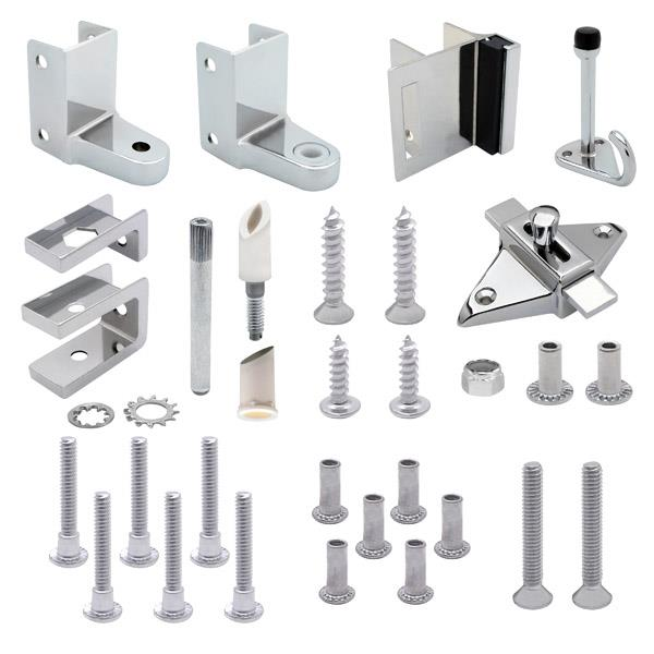 Door Hardware Kits For 7 8 Door And 1 1 4 Post Toilet
